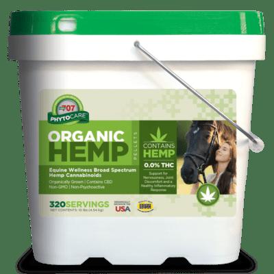 10 lb bucket of Hemp pellets