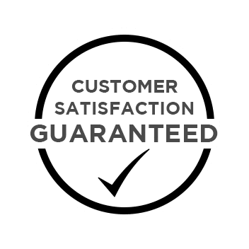 customer satisfaction guaranteed badge