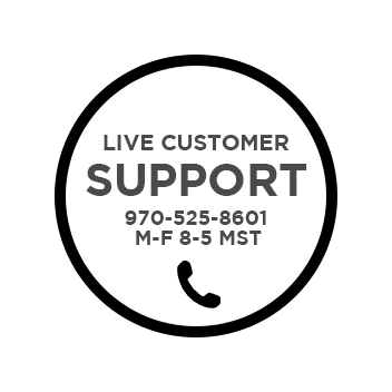 live customer support badge