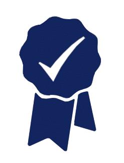 show safe ribbon badge